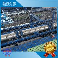 Weaving Diameter 1.4mm - 4.5mm Chain Link Mesh Machine One Year Warranty Manufactures