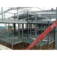 Multi - Floor Building Steel Frame Fabrication With Aluminum Alloy Window\ Manufactures