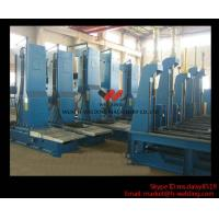 Manual Box Beam / H Beam End Face Milling Machine Full Automatic For Steel Cross Beam Manufactures