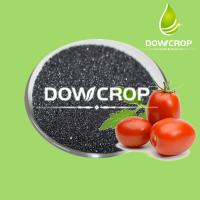 DOWCROP      HOT      SALE      ≥98%     WATER     SOLUBLE    POTASSIUM     HUMATE     BLACK     FLAKES Manufactures