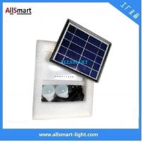 Quality 4400mAH Li-ion Battery Multi-function Portable DC Solar System 2 LED Bulbs with for sale