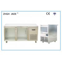 Thicker SS Material Blue Light Inside Refrigerator Accurate Refrigeration Manufactures