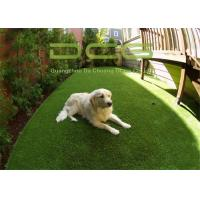 Garden Decoration Synthetic Artificial Grass For Pets Anti UV Fire Resistance Manufactures