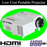 White Black Color LED Lamp Mini Projector HDMI With Retail Package For Kids Birthday Gift Manufactures