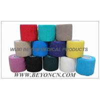 Cohesive Elastic Bandage Sports Strapping Tape Self - adhesive For Sports Wrap Manufactures