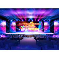 IP43 High Definition Full Color Led Signs , Large Led Stage Screen 250x250mm Module Manufactures