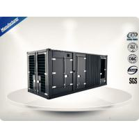 2250-2500 kw/kva MTU Container Generator Set Soundproof With 24V DC Electric Manufactures