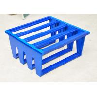 High Efficiency Pocket Air Filter Plastic Frame , Aluminum Frame Or Galvanized Optional Manufactures
