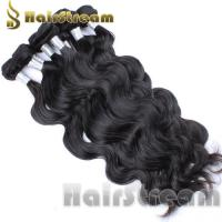 European Real Remy Human Hair Bundle Natural Black Body Wave Human Hair Weave Manufactures