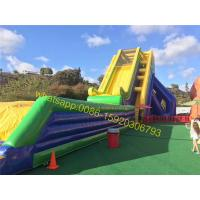 slide mat bounce giant inflatable slide Manufactures