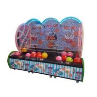 China Indoor Coin Operated Kids Street Basketball Game Machine with three player on sale