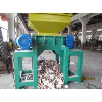 Tire Twin Shaft automatic Plastic Shredding Machine for waste plastics Manufactures