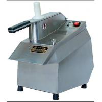 Vegetable Slicer Food Processing Equipments 220V Stainless Steel Manufactures