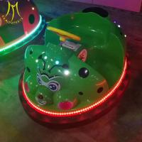Hansel 2018 fast profit plastic bumper cars with lights amusement ride from factory Manufactures
