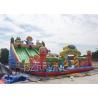 Digital Printing PVC 0.55mm Large Inflatable Slides For Kids / Adult CE Manufactures