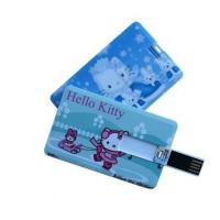Customize Credit Card USB Flash Drive Memory Stick With Logo Printed Manufactures