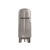 JUCAI 5000L 8BAR Large Compressed Air Tank DN125 Inlet Port Manufactures
