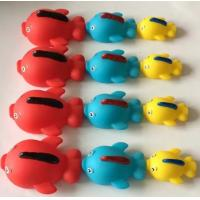 Quality Rubber Natural Rubber Baby Toys ,Sea Creature Bath Toys With Magnetic Connectors for sale