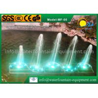 Square Shape Musical Water Fountain Multiple Nozzles Single Conversion 4400W Manufactures