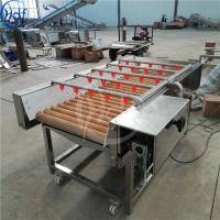 China Hair Removel Fruit and Vegetable Washing Machine 500 - 1000kg / h Capacity on sale