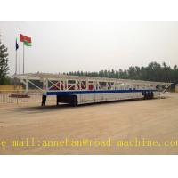 China SHMC 18m Vehicle Transport trailer  Car Carrier 18000 x 2400 x 3000 mm with FUWA Axle WITH ISO CCC APPROVAL on sale
