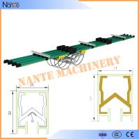 Aluminum / Copper insulated Conductor Bar Crane Bus Bar With CE Certificated JDC-H Manufactures