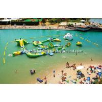 Durable 0.9mm PVC Tarpaulin Inflatable Blow Up Water Park for Advertising Manufactures
