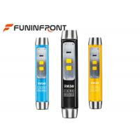 USB Charge UV Light , White Light, Yellow Light Led Flashlight for Jade Appraisal Manufactures