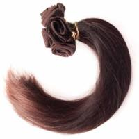 China Beautiful Silky Straight Hair Extension Remy Inidian Human Hair on sale