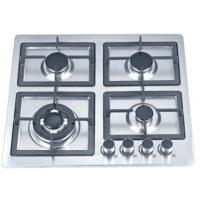 Stainless Steel Built In Gas Cookers / 4 Ring Gas Hob 580mm For Kitchen Manufactures