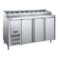 +6℃ to 0℃ Pizza Commercial Refrigerator Freezer 400L Air Cooling Food Case Manufactures