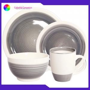 Buy cheap Ceramic Dinnerware Set stoneware coffee mug 5.5inch bowl hand painted dessert from wholesalers