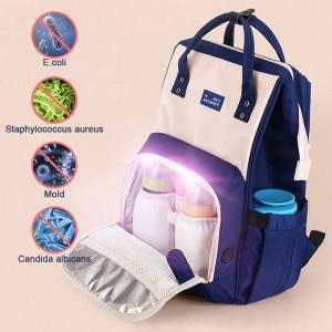 Custom LED UV Baby Nappy Sterilizer Diaper Bag Manufactures
