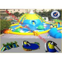 water park slides water amusement aqua park inflatable water slide for kids and adults Manufactures