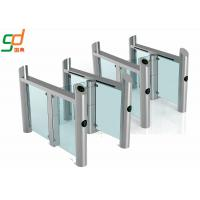 Stainless Steel Supermarket Swing Gate RFID Access Control Speed Gates Manufactures