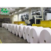 Pure White BPA Free Thermal Paper Rolls Cash Register Paper Jumbo Rolls SGS Approval Manufactures