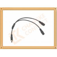 OEM / ODM DC12V custom power cables Male To Female 1 To 2 Y Type Manufactures