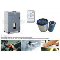Industry Air Purifying Portable Fume Extractor , Active Carbon Cartridge Dust Fume Extraction Manufactures