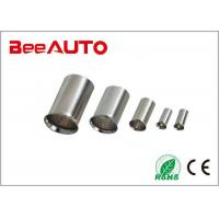 EN1510 Non Insulated Butt Connectors For Automotive , Uninsulated Wire Connectors Customized Manufactures
