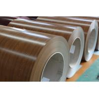 China 0.30*1200mm wood grain finish ppgi steel coil on sale