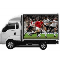 Outdoor Three Sides 1920Hz 5500CD P6 Mobile LED Billboard Manufactures
