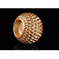 Honeycomb Design Electroplating Effect Tealight Candle Holder Made By Ceramic Manufactures