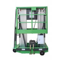 Quality Platform Height Max 10m Double Mast Aluminum Vertical Lift Loading Capacity for sale