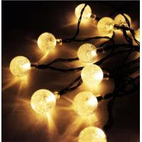 Multi Color IP44 Outdoor Solar String LED Lights Dia 6.5× 25.5cm Manufactures