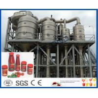 Stainless Steel Tomato Paste Processing Plant For Tomato Sauce Production Process Manufactures