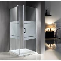 Popular Custom Glass Shower Enclosures , Glass Shower Door Enclosures Manufactures
