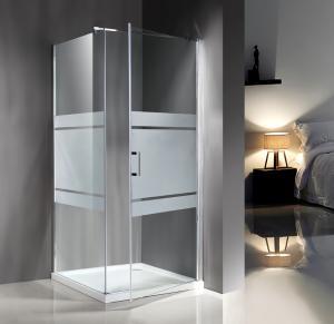 Popular Custom Glass Shower Enclosures , Glass Shower Door Enclosures Manufactures
