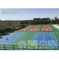Seamless Acrylic Tennis Court Flooring With Stable Surfacing Materials Manufactures
