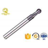 CNC Two Flute Carbide Ball End Mill High Strength Accuracy More Than 0.01mm Manufactures