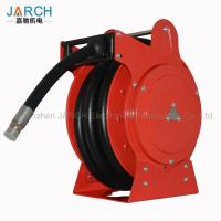 China Low Pressure Retractable Extension Cord Reel Hydraulic Drives Anti Static For Fuel Tanker Truck on sale